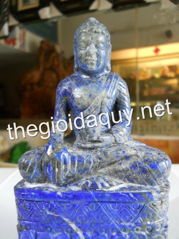 Tượng Phật Thích Ca đá Lapis Lazuli