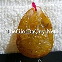 Phật bản mệnh Đại Thế Chí thạch anh tóc vàng 31
