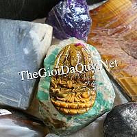 Phật bản mệnh Quan Âm nghìn tay đá mắt hổ - Chổ bán Phật bản mệnh đúng gốc phật giáo