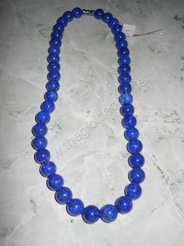 dây chuyền đá lapis lazuli đem lại may mắn